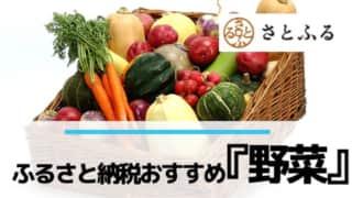 ふるさと納税おすすめ返礼品「野菜」