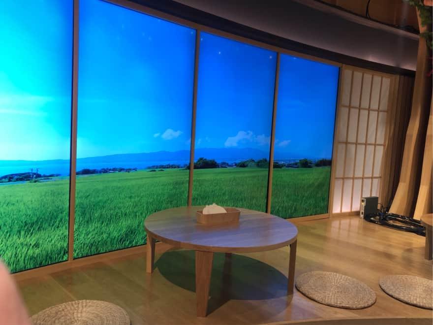 ふるさとチョイスカフェ田園風景