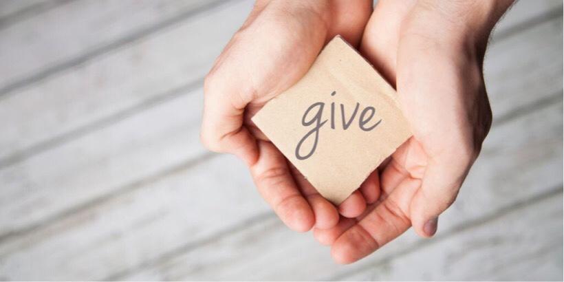 GIVEの精神