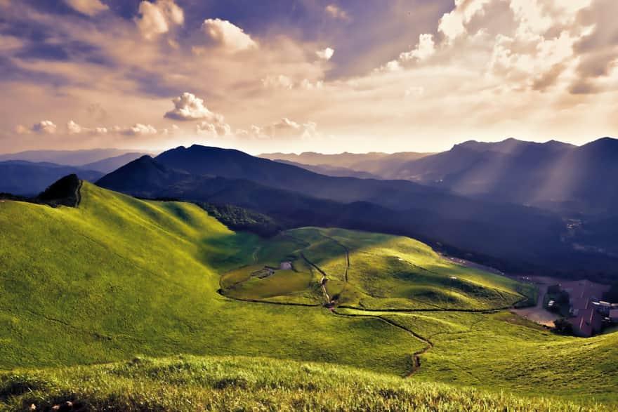 曽爾村の美しい風景