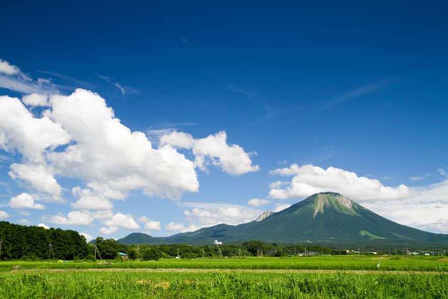 大山の風景