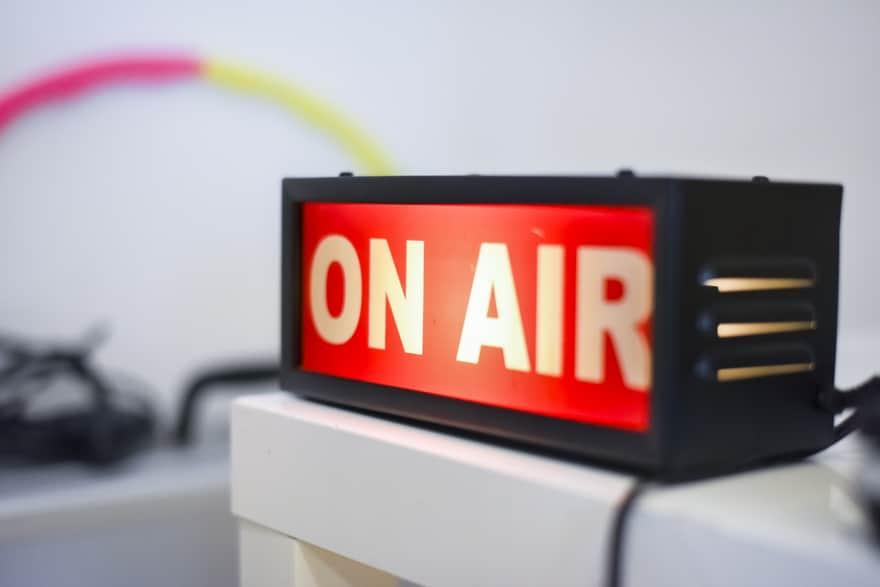 ラジオのオンエアー