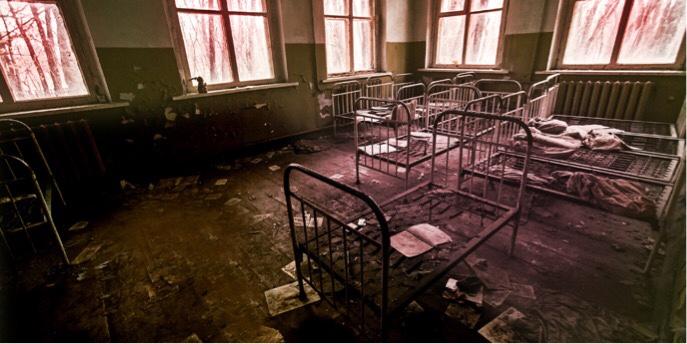 古くなった病院