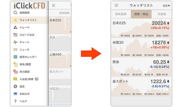 GMOクリック証券アプリ