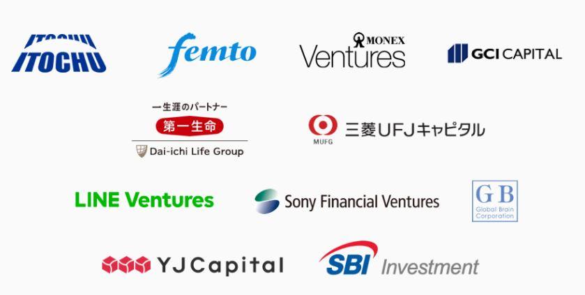 クラウドクレジットの出資企業