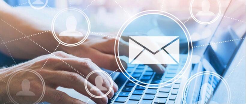 メール受信するイメージ