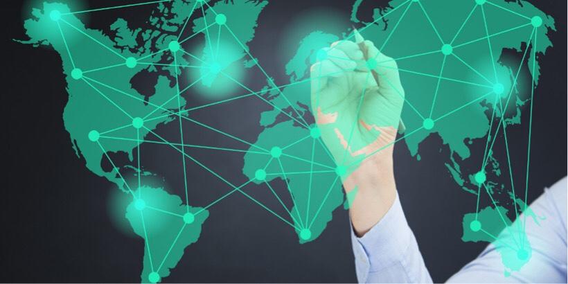 世界ネットワークのイメージ