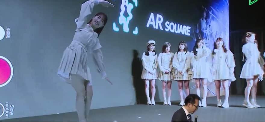 AKB48のソフトバンクAR