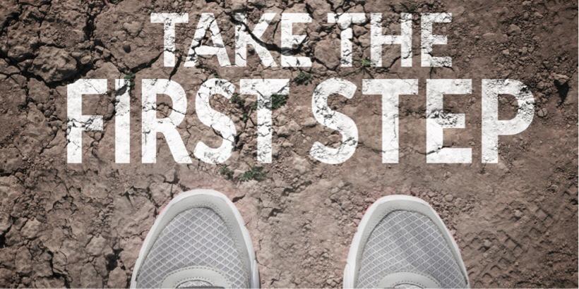 はじめの一歩を踏み出す