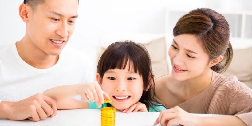 子供への投資教育のイメージ