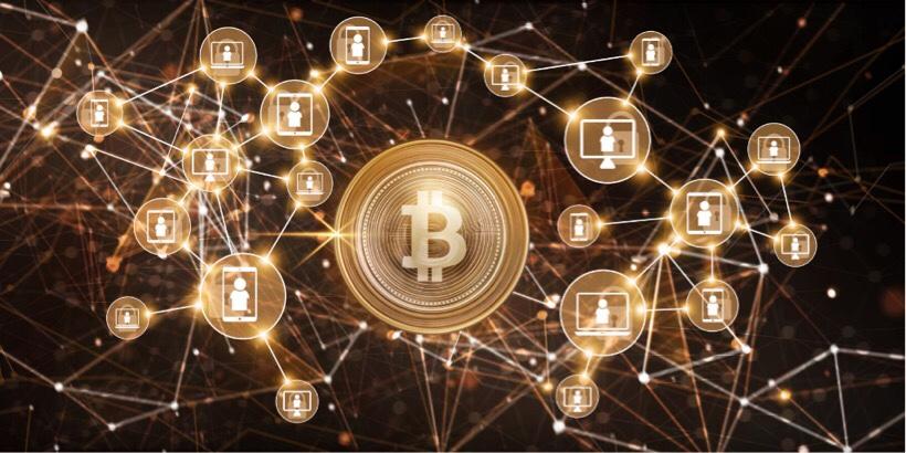 ビットコイン取引を承認しているイメージ