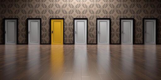 選択肢のイメージ(ドア)