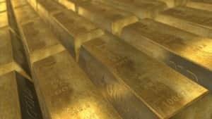 金の棒の写真