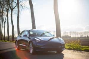 テスラ車の写真